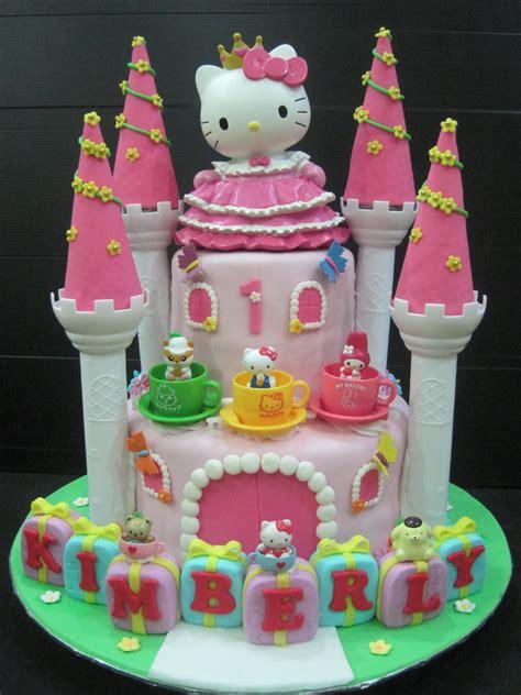 Hello Kitty Themed Cake | cupcake cake designs for teenage girls 30 cute hello