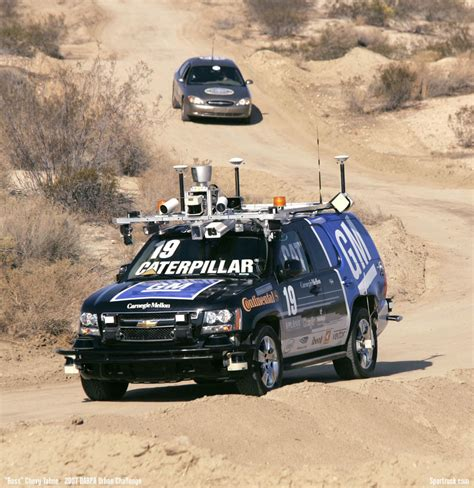 grand challenge darpa self driving vehicles the future always takes longer to