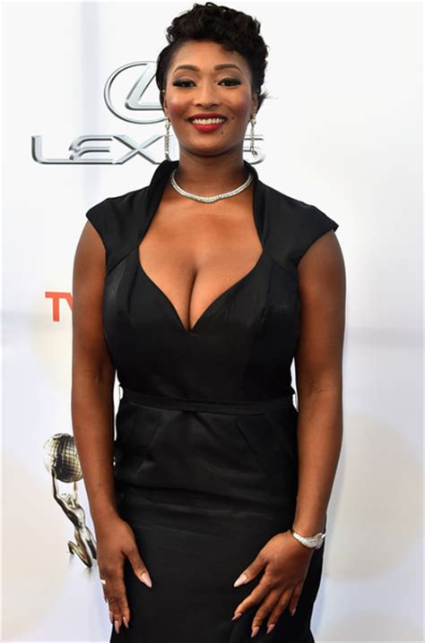 Tocarra In by Toccara Jones Model Toccara Jones Attends The 46th Naacp