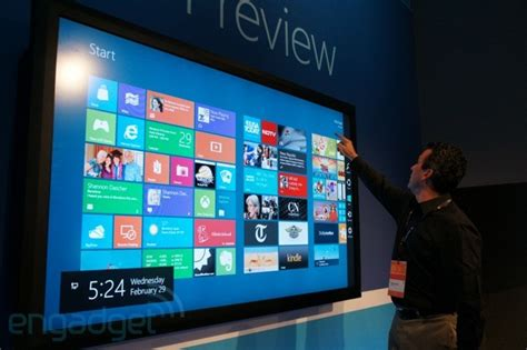 Tv Samsung Touch Screen 32 Inch microsoft windows 8 on 82 inch touchscreen on microsoft windows microsoft and tech