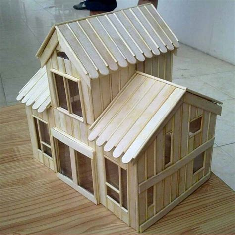 cara membuat rumah adat papua dari kardus desain rumah adat dari stik contoh hu