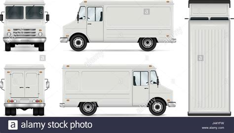 food truck layout template food truck vector template for car branding and