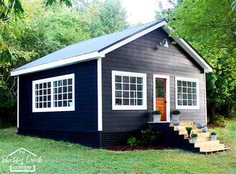 she shed the farmhouse style she shed that dreams are made of
