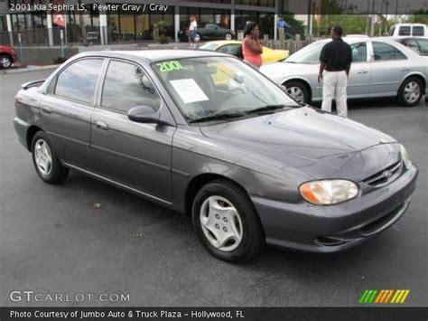 2001 Kia Sephia Ls Pewter Gray 2001 Kia Sephia Ls Gray Interior