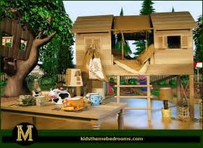 Treehouse Bedroom treehouse theme bedroom decorating ideas treehouse theme bedroom
