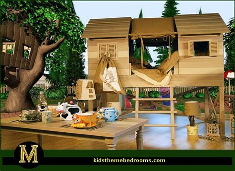 outdoor bedroom ideas decorating theme bedrooms maries manor treehouse theme