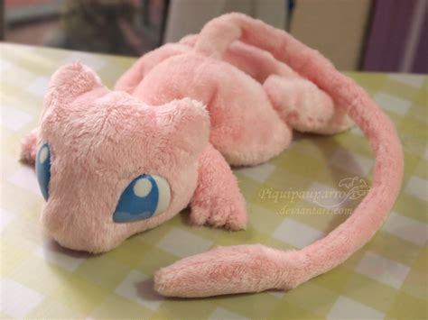 Handmade Plush - pink mew hanmade plushie by piquipauparro on deviantart
