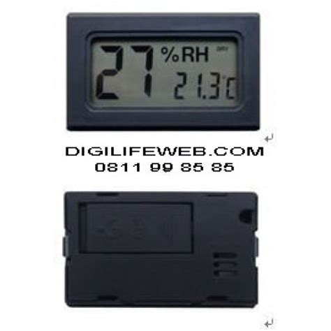 Thermometer Hygrometer Thermo Hygro Manual Suhu Dan Kelembapan hygrometer thermometer value