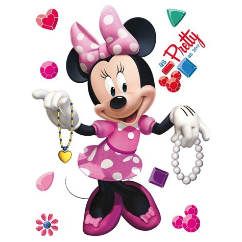 Botol Minum Disney Minie Mouse Pink disney minnie stickers great kidsbedrooms the children bedroom specialist