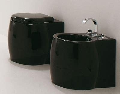 bidet noir collection dunia design gamme chic et moderne de lavabos