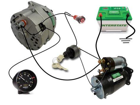 common delco  series alternator wiring diagram smith