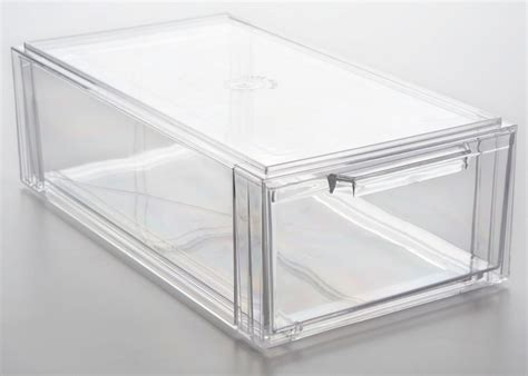 Clear Drawers by Clear Plastic Storage Drawers Iris 4 Drawer Rolling