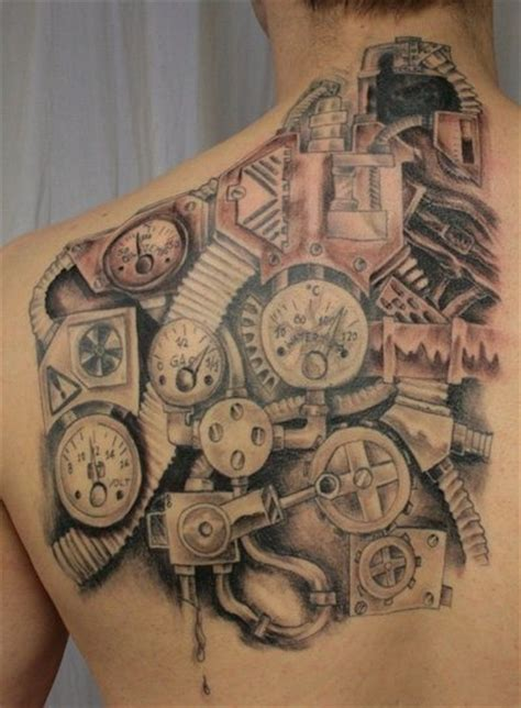 industrial tattoo 17 best images about gears cogs and other nicknacks on