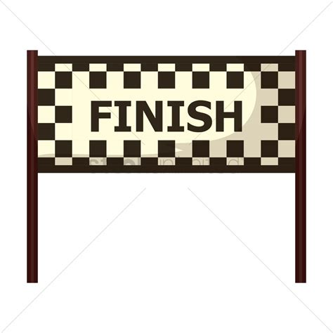 Meta Instant free circuit finish line vector image 1444214 stockunlimited