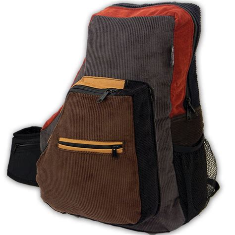 Termurah Sling Bag Musi patchwork corduroy backpack with mountain applique large ixchel inc handmade apparel and