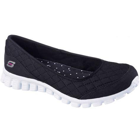 memory foam comfort shoes ladies skechers spruced up flex 2 memory foam comfort