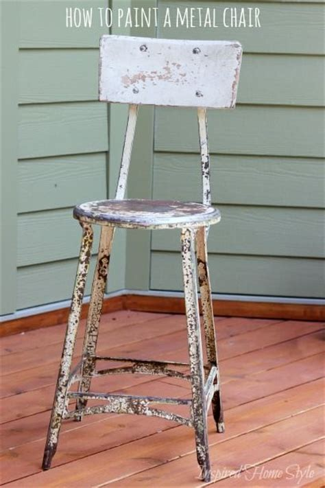 spray painting metal furniture the 25 best painting metal chairs ideas on