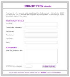 enquiry form template enquiry form template can i insert an image to the right