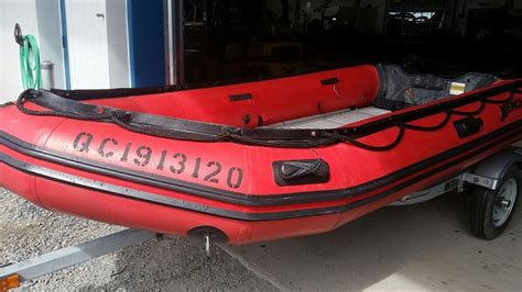 used mercury inflatable boats for sale mercury inflatables 380 heavy duty 2009 used boat for sale