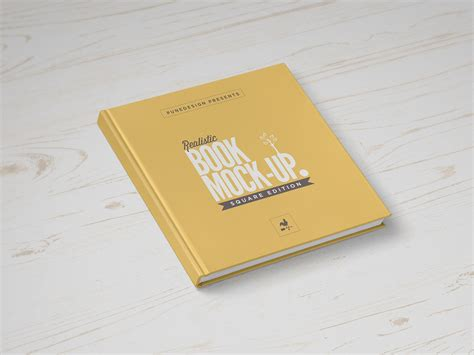square book mock up free psd download download psd
