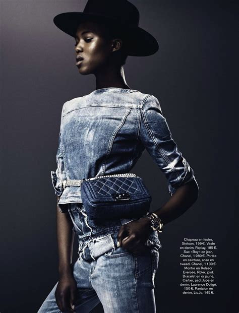 Black Master Psd Denim radical denim ataui deng and alima fofana by vanmossevelde n for june 2013