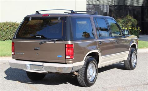 electric and cars manual 1991 ford bronco security system 1991 ford explorer eddie bauer 4x4 in excellent condition like bronco for sale ford