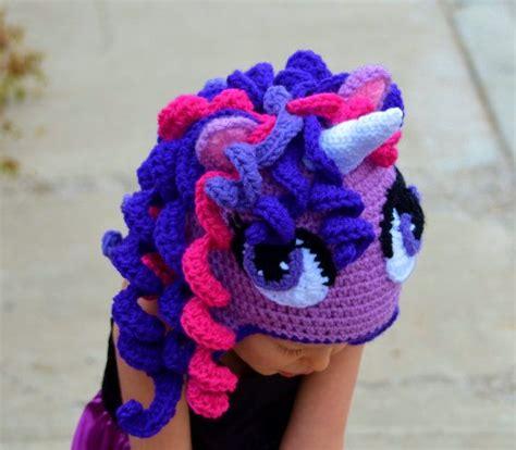 crochet pattern unicorn hat crochet unicorn hat pony hat halloween hat by