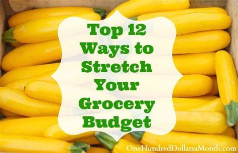 9 Ways To Be Pretty On The Cheap by Top 12 Ways To Stretch Your Grocery Budget Budgeting