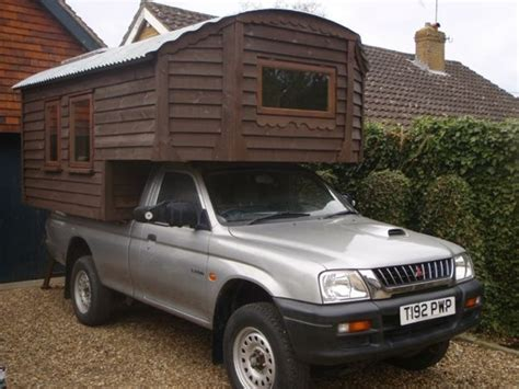 Truck Cabins by Handmade Micro Cabin Built On A 4x4 Diesel Truck For Sale