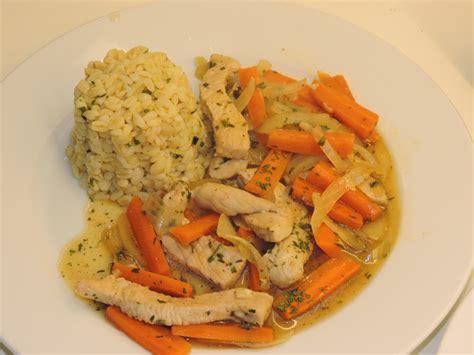 recette de cuisine facile et rapide plat chaud poulet carottes soja la cuisine de ponpon rapide et facile