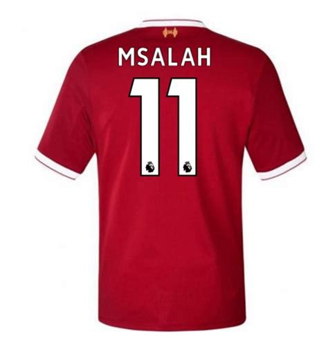 M Salah Liverpool 2017 2018 Home Away Third Style Nameset maglia 2017 18 liverpool fc 2017 2018 home m salah 11 da bambino per soli 93 92 su