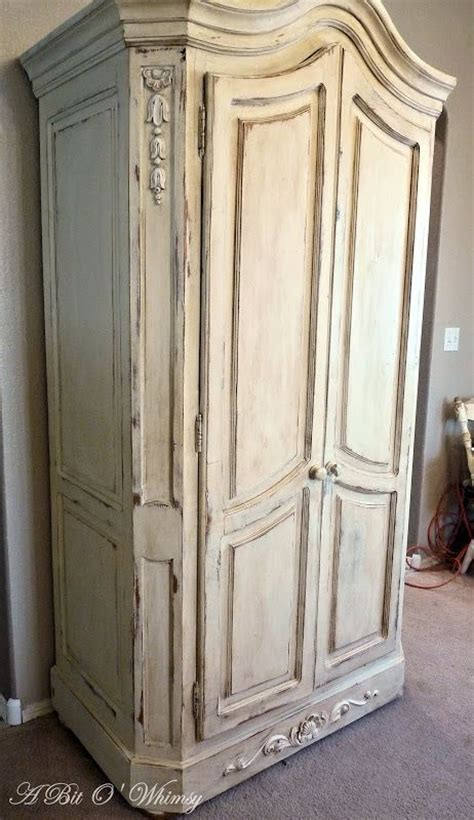 chalk paint armoire annie sloan chalk paint old ochre french armoire at www