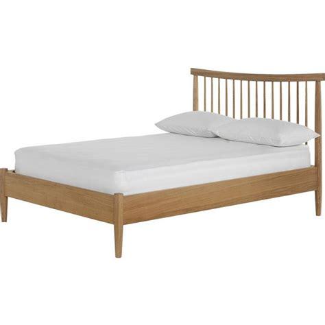 spindle bed frame buy heart of house dorset spindle double bed frame oak
