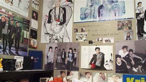 Bedrooms Decoration Ideas my kpop room youtube