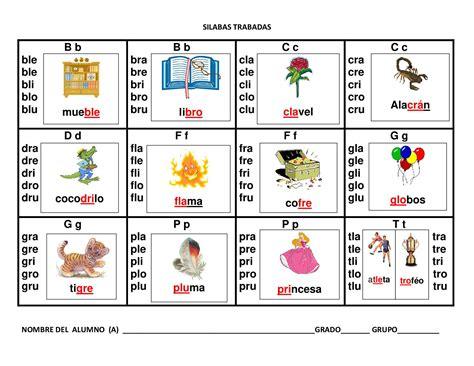 imagenes educativas trabadas silabario en gran formato 3 escolar pinterest