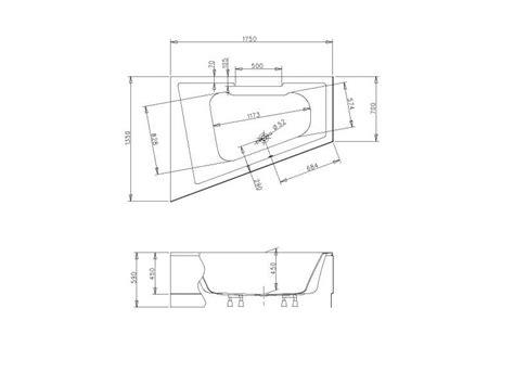 badewanne cosima badshop veith trapezwanne acryl cosima 175x135cm weiss