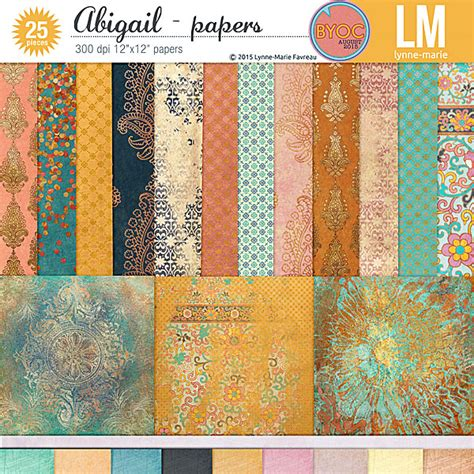 Abi Essay by Digital Paper Packs For Scrapbooking The Lilypad