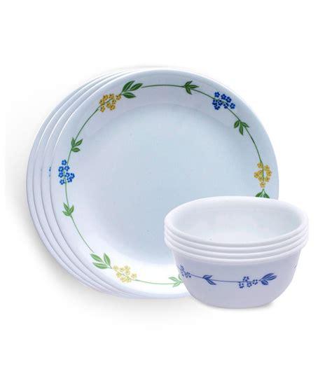 corelle deals corelle livingware secret garden 8 pcs dinner set snapdeal price dinner sets deals at snapdeal