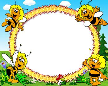 design frame cartoon honey bee frame cartoon frame design clipart best