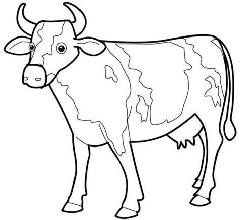 imagenes para dibujar vacas dibujos de vacas para colorear y pintar