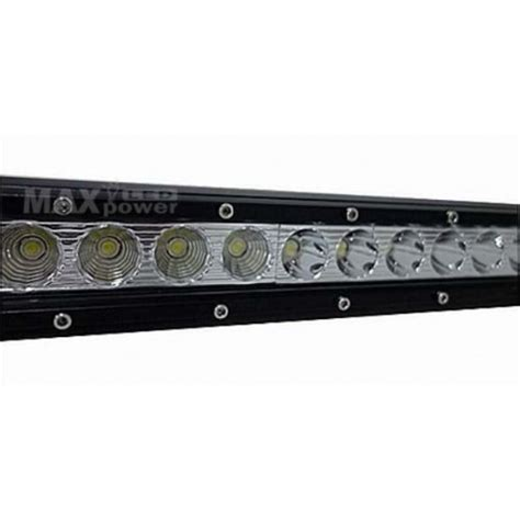 38 Quot 180w Single Row Led Light Bar 38 Led Light Bar