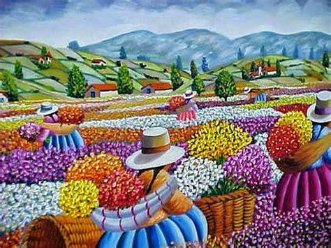 imagenes de flores modernas mujeres cesinas quot recolectoras de flores quot pinturas
