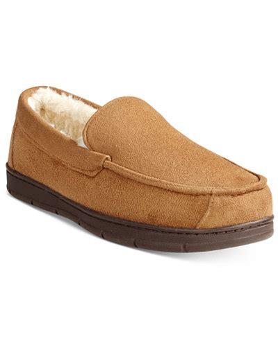 32 degrees slippers macy s 32 degrees men s memory foam moccasin slippers for