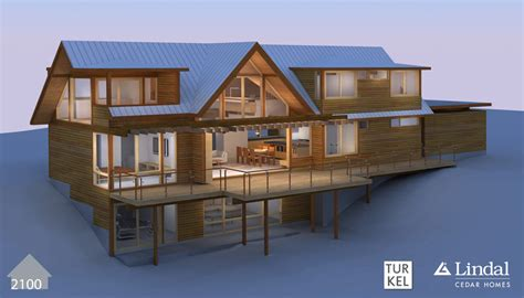 lindal home plans bold modern turkel design lindals lindal cedar homes
