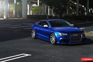 Audi Rs5 Wheels New Audi Rs5 On Vossen Wheels Autoevolution