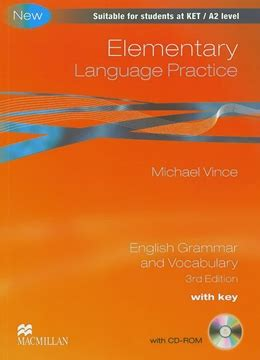 language practice new edition elementary language practice with key cd rom edition