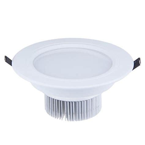 Lu Led Downlight 7 Watt lemonbest white led 7 watts led ceiling light recessed downlight led driver kit bulbs