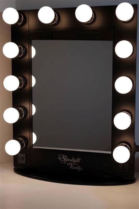 tabletop makeup mirror with lights starlight hollywood lighted vanity makeup mirror top