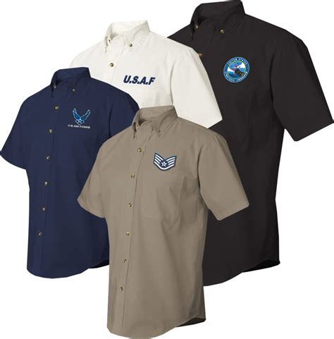 custom embroidery shirts us air custom embroidered dress shirts