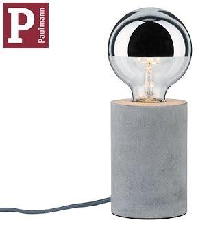 Lu E27 220v 20w namizna svetilka iz betona mik e27 20w spletna trgovina